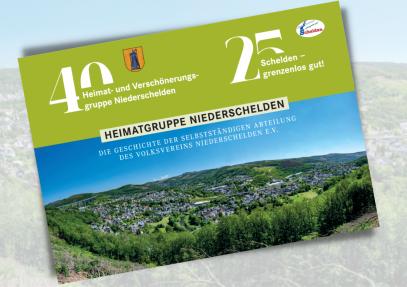 """Plakat """"40 Jahre Heimatgruppe Niederschelden"""""""